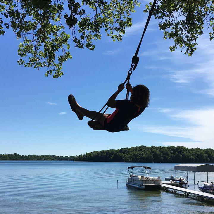 """""""Swinging"""" - River's Art"""