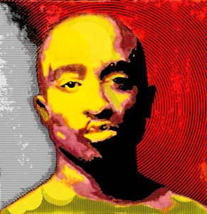 Tupac Digital Portrait