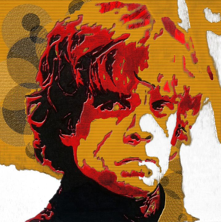 Tyrion Lannister Abstract Portrait - Matt Skinner Art