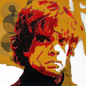 Tyrion Lannister Abstract Portrait