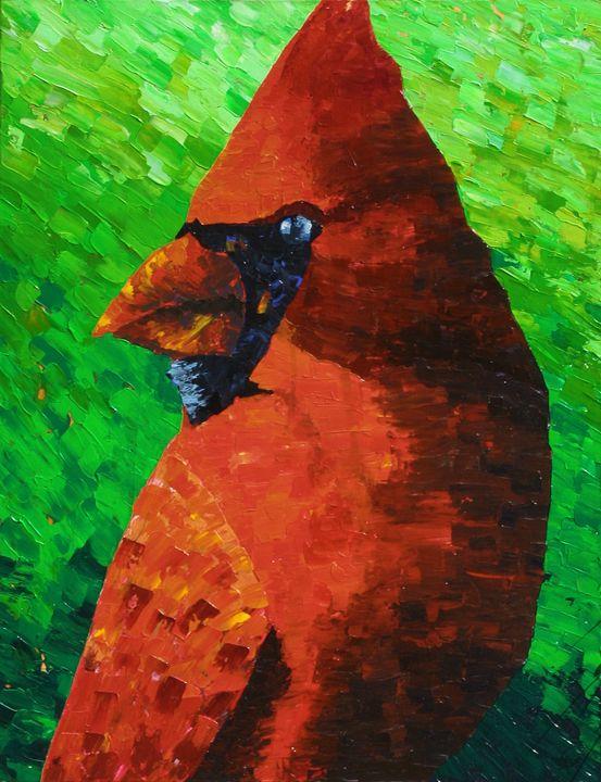 Cardinal - Matt Skinner Art
