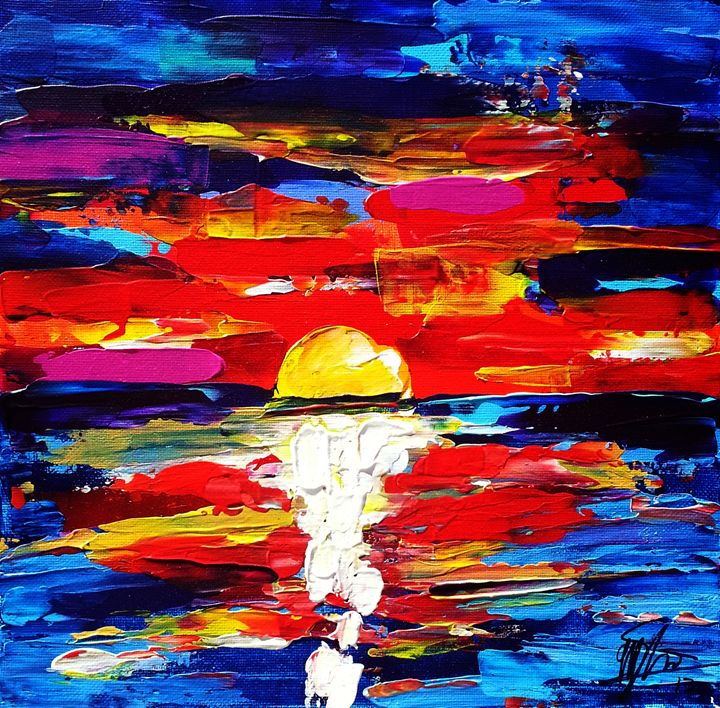 Sunset - Matt Skinner Art
