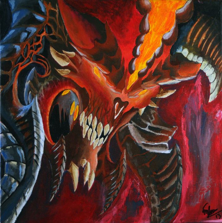 Diablo - Matt Skinner Art