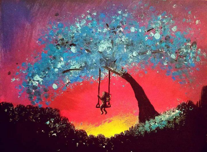 Sunset swinger - Helmagic