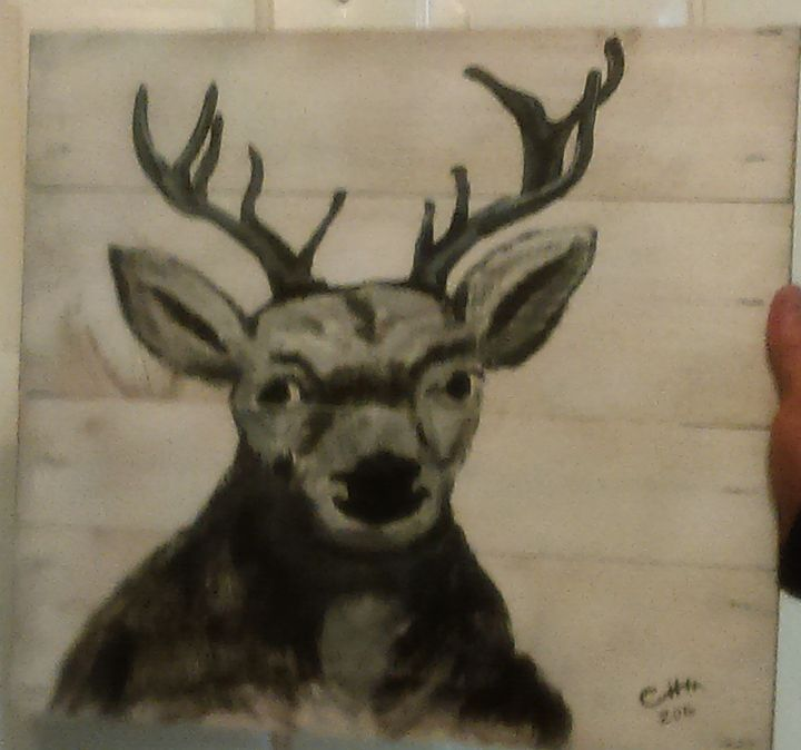 Deer head - Crystal huss
