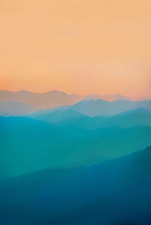 blue mountains - Mountain view