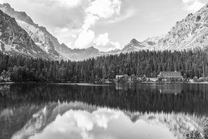 Mountain lake Slovakia
