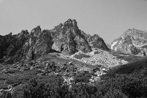 High Tatras mountain peaks