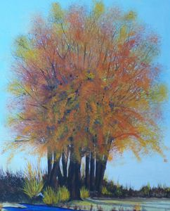 Happy Tree - EA Dyer Art Studio
