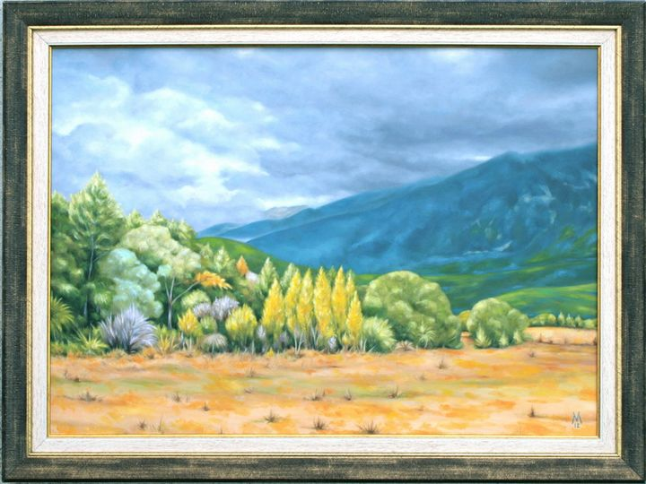Rural Landscape - Valentin Manuelian