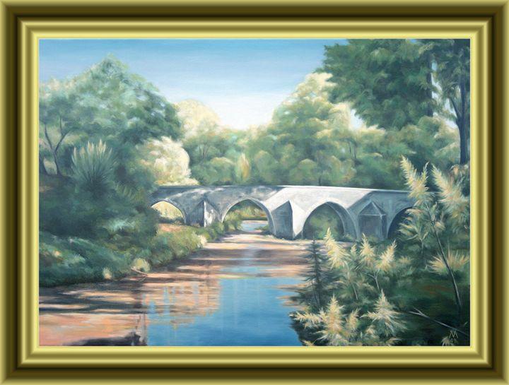 Bridge in Provence, South France - Valentin Manuelian