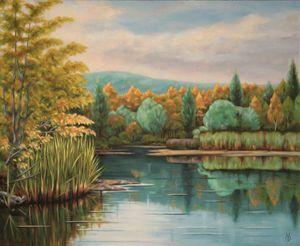 Lake in S.R.
