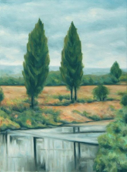 Two Poplar Trees - Valentin Manuelian