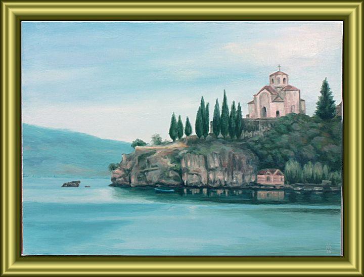 Chapel by the Ohrid Lake #2 - Valentin Manuelian