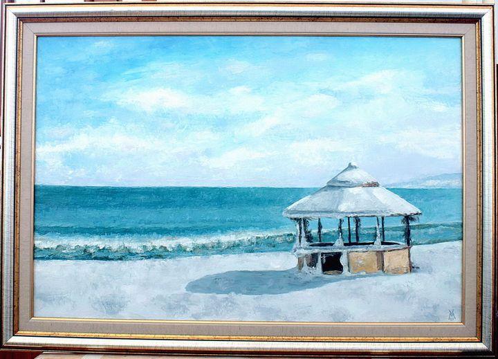 Gazebo by the Sea - Valentin Manuelian