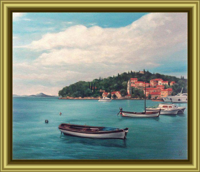 Yachts at a Pier in Kotor, Croatia - Valentin Manuelian