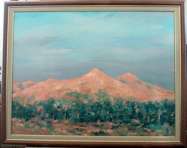 Sunlit Mountains in Italy - Valentin Manuelian