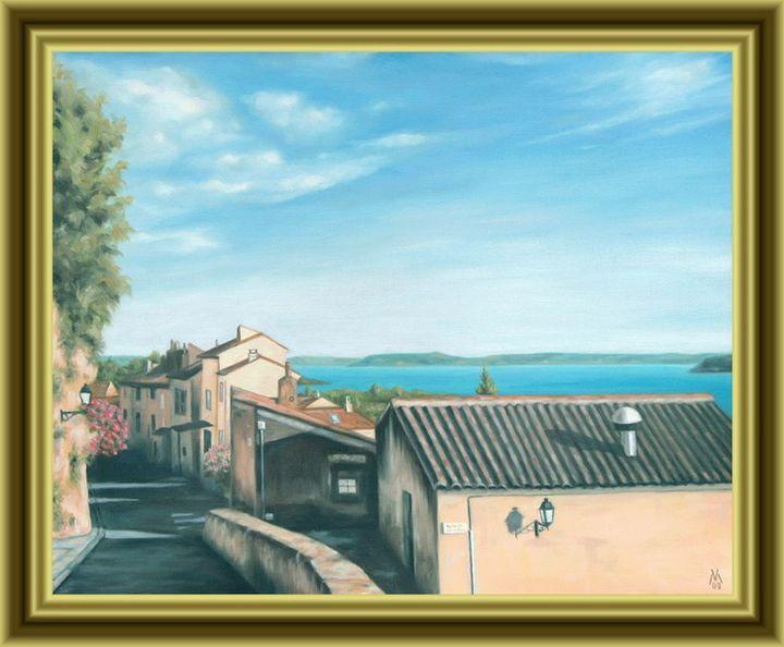 a Street in Miramas-le-Vieux town - Valentin Manuelian