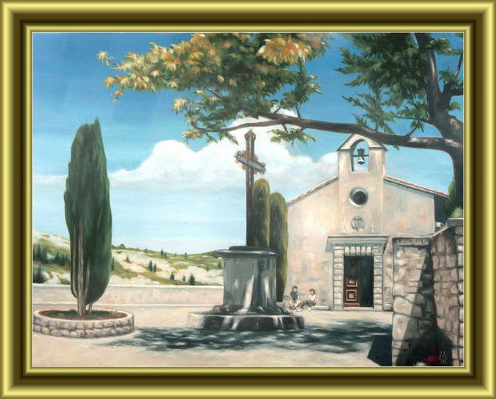 Church in Provence - Valentin Manuelian