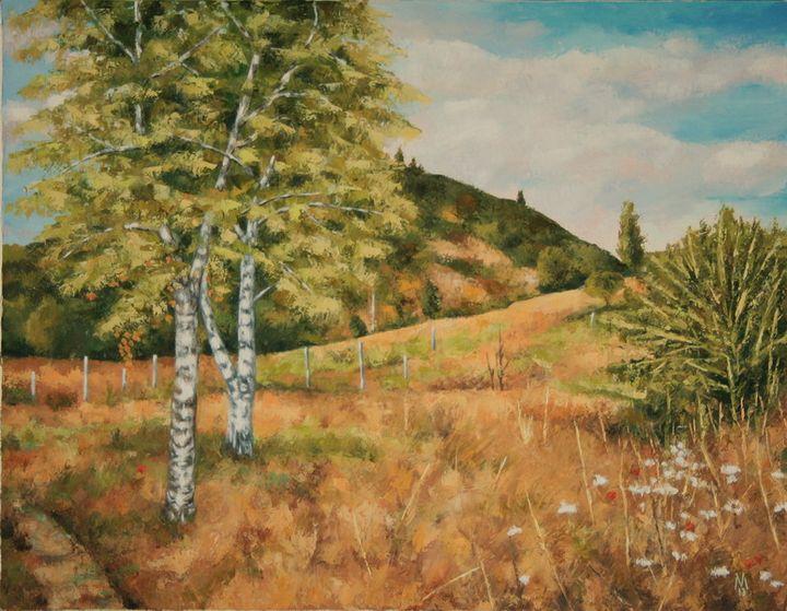 Birche Trees - Valentin Manuelian