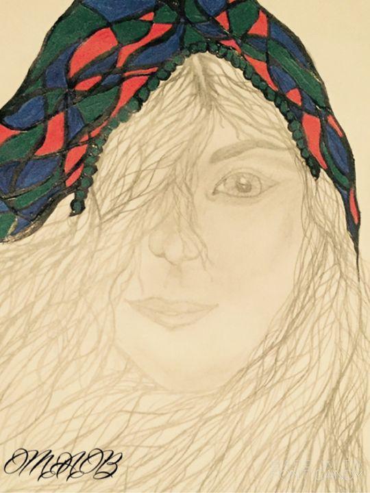 The blue bonnet - MAB Creations