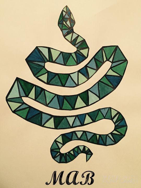 Geometric Snake - MAB Creations