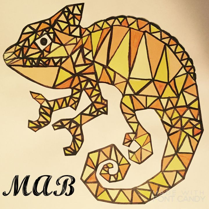 Geometric  Chamaeleon - MAB Creations