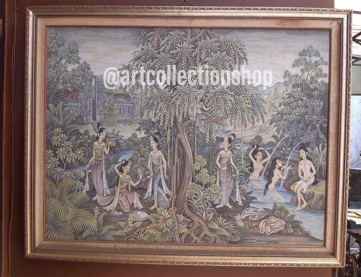 For Sale Art Painting Oil On Canvas - Art Collection Shop