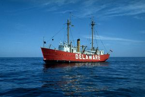 Lightship DELAWARE, April, 1968 - JWH Images