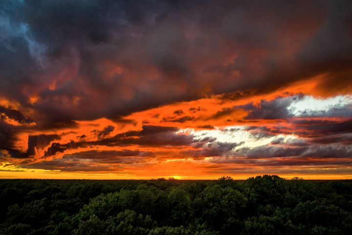 SUNSET, Hughesville, Maryland, - JWH Images