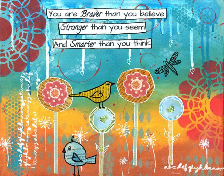 Braver, Stronger, Smarter - Serendipity Studio
