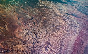 Aerial View Of The Southwest U.S.