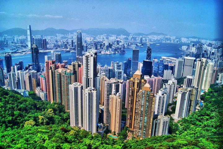 """"""" Hong Kong """" - ( Joe Digital & Co ) art.likesyou.org"""