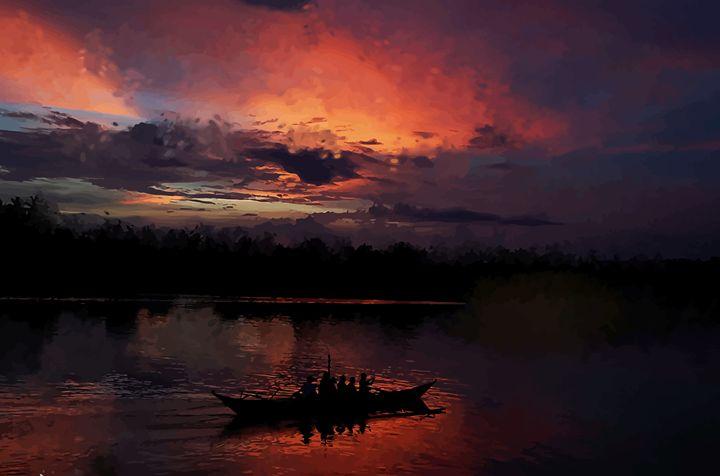 """ Bicol Fishing "" - ( Joe Digital & Co ) art.likesyou.org"