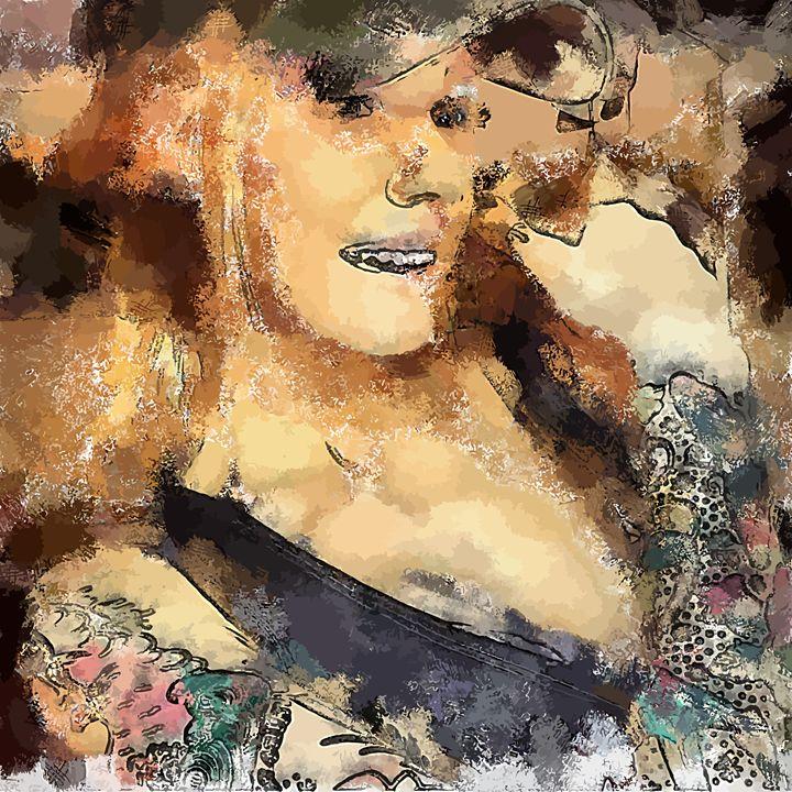 """ Tattoos "" - ( Joe Digital & Co ) art.likesyou.org"