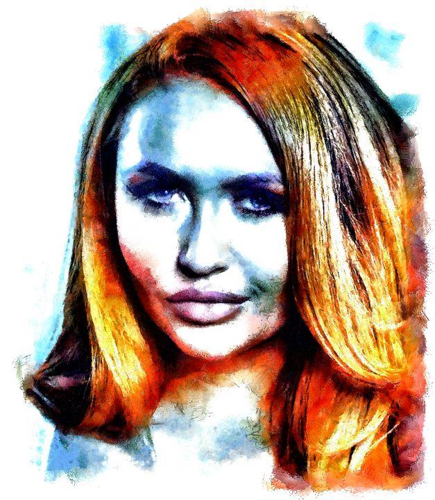 """ Hey Girl "" - ( Joe Digital & Co ) art.likesyou.org"