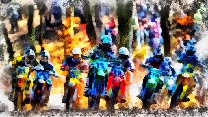 """ The Race "" - ( Joe Digital & Co ) art.likesyou.org"