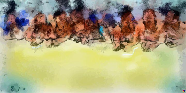 """ Boracay Sands "" - ( Joe Digital & Co ) art.likesyou.org"