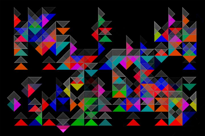 """"""" Abstract Vector """" - ( Joe Digital & Co ) art.likesyou.org"""