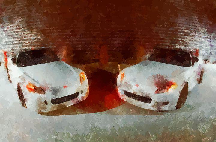 """"""" Two Whites """" - ( Joe Digital & Co ) art.likesyou.org"""