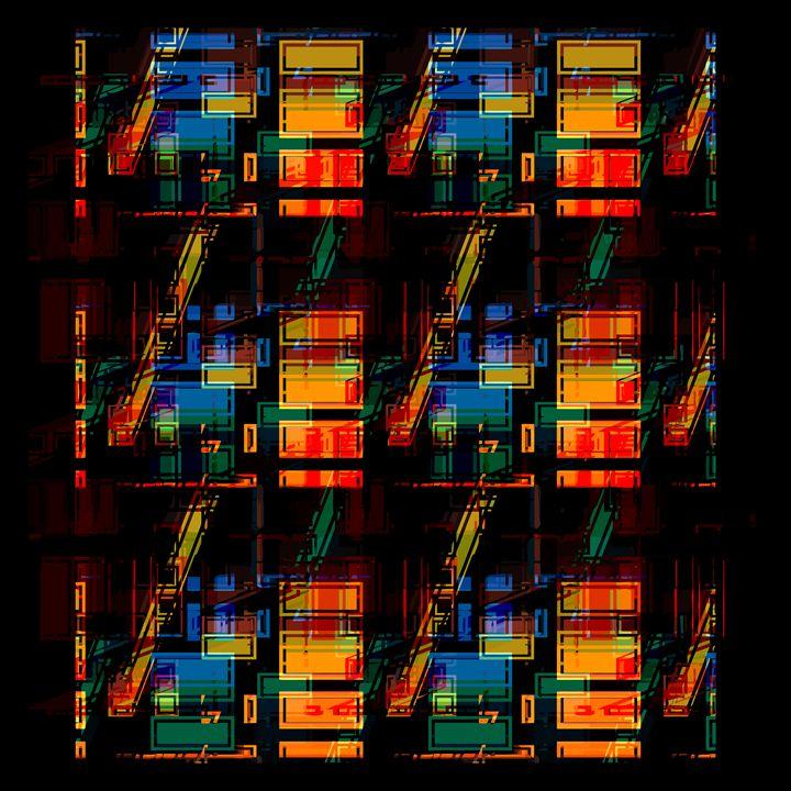 """"""" Apartment Block """" - ( Joe Digital & Co ) art.likesyou.org"""