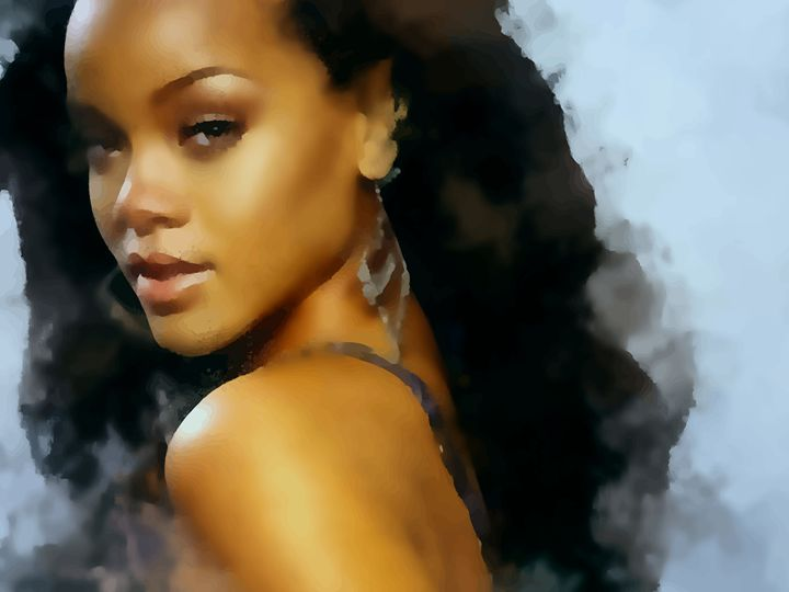 """ Rihanna "" - ( Joe Digital & Co ) art.likesyou.org"