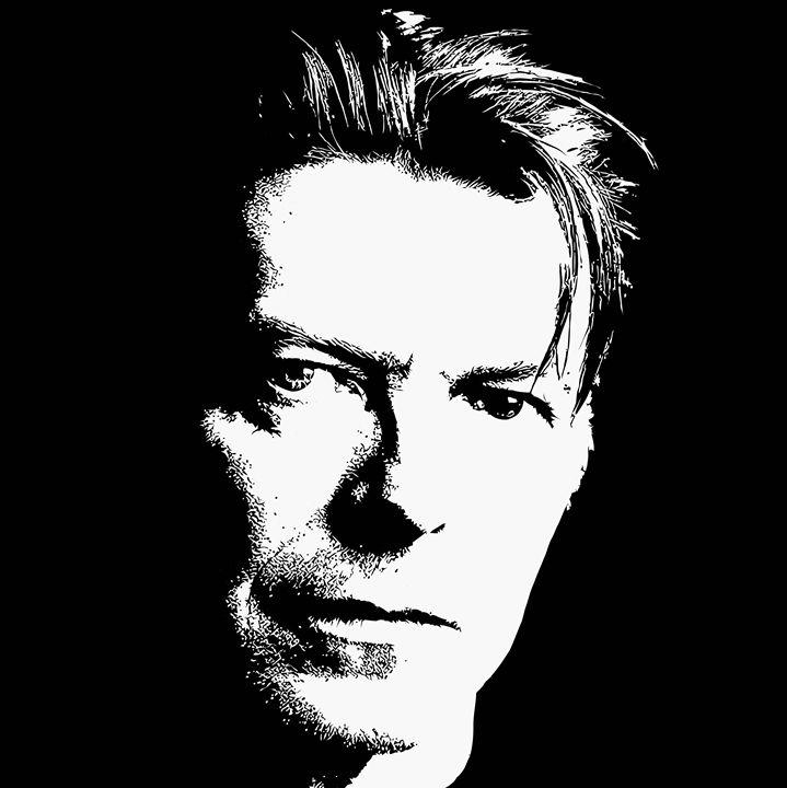 """"""" Bowie """" - ( Joe Digital & Co ) art.likesyou.org"""
