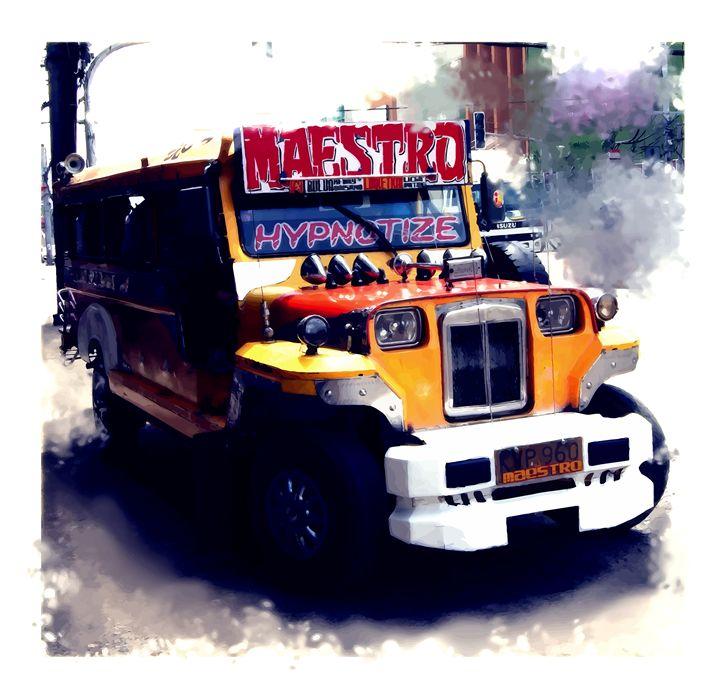 """ The Maestro Jeepney "" - ( Joe Digital & Co ) art.likesyou.org"