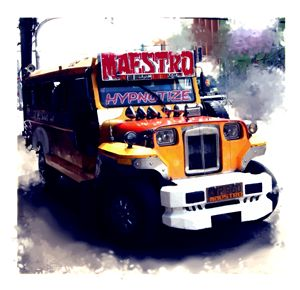 """ The Maestro Jeepney "" - ( Joe Digital & Co ) art.likesyou.org"