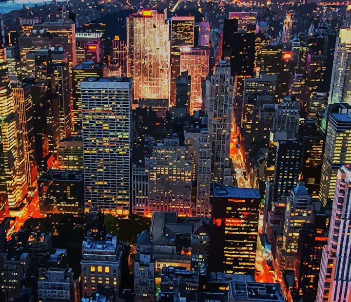 """"""" Cityscape """" - ( Joe Digital & Co ) art.likesyou.org"""