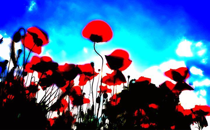 Poppy Skies - ( Joe Digital & Co ) art.likesyou.org