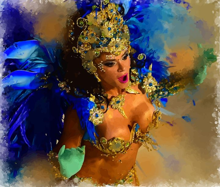 """ Rio Samba "" - ( Joe Digital & Co ) art.likesyou.org"