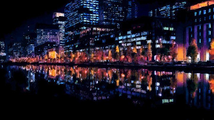 City Reflections - ( Joe Digital & Co ) art.likesyou.org