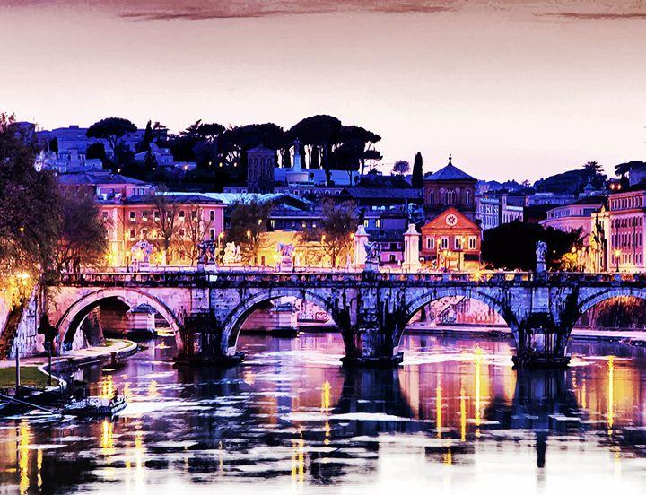 """"""" Rome """" - ( Joe Digital & Co ) art.likesyou.org"""